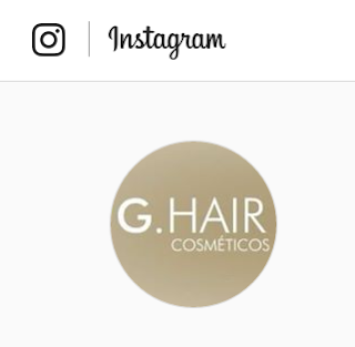 Instagram G.Hair Oficial