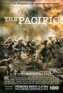 The Pacific (2010) Miniserie belica producida por Steven Spielberg.