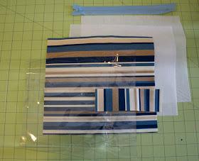 Handmade By Meg K Vinyl Lined Makeup Bag Tutorial