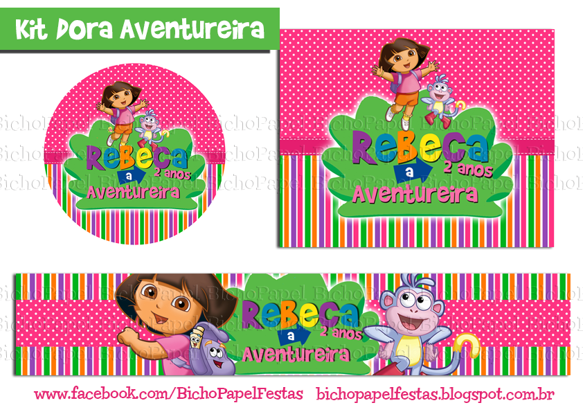 Kit Festa Dora Aventureira