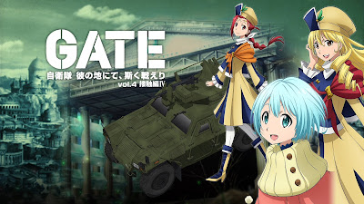 Download GATE BD Vol 1-4 [Subtitle Indonesia]