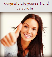 Congratulate yourself