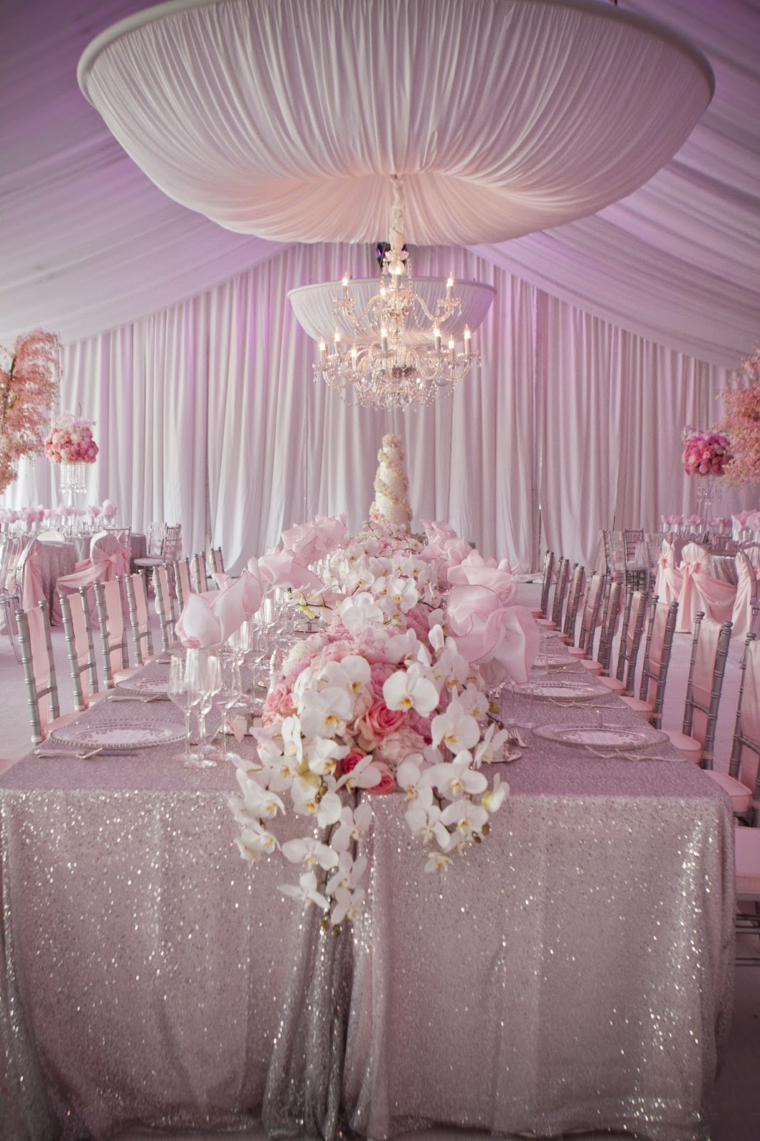 Pink Wedding Theme Will Be a Smashing Success With an Air of Sophistication