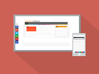 Cara Memasang Tombol Share Melayang di Samping Blog