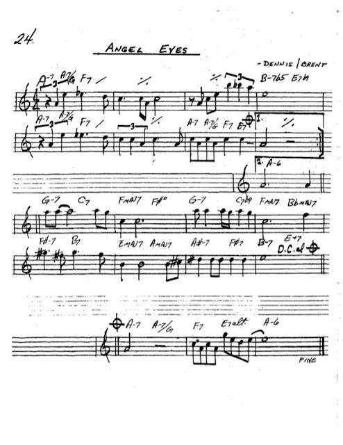 Partitura Saxofón Dennis Brent