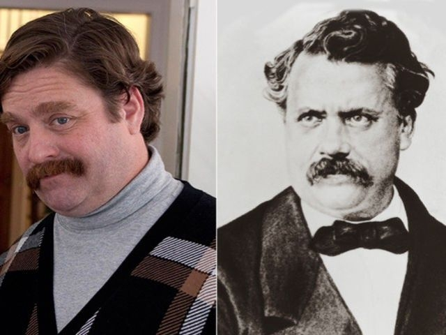 Zach Galifianakis and Louis Vuitton