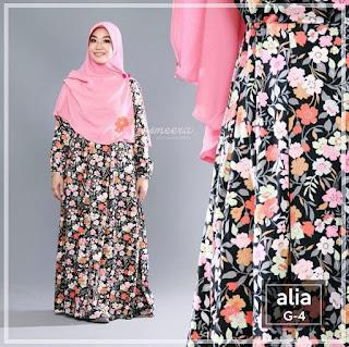 Gamis Yasmeera Alia Dress G4