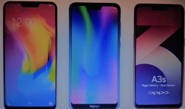 iPhone X जैसे डिस्प्ले नॉच से लैस 'किफायती' स्मार्टफोन 2018