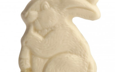 Make Your Own White Chocolate Easter Bunny