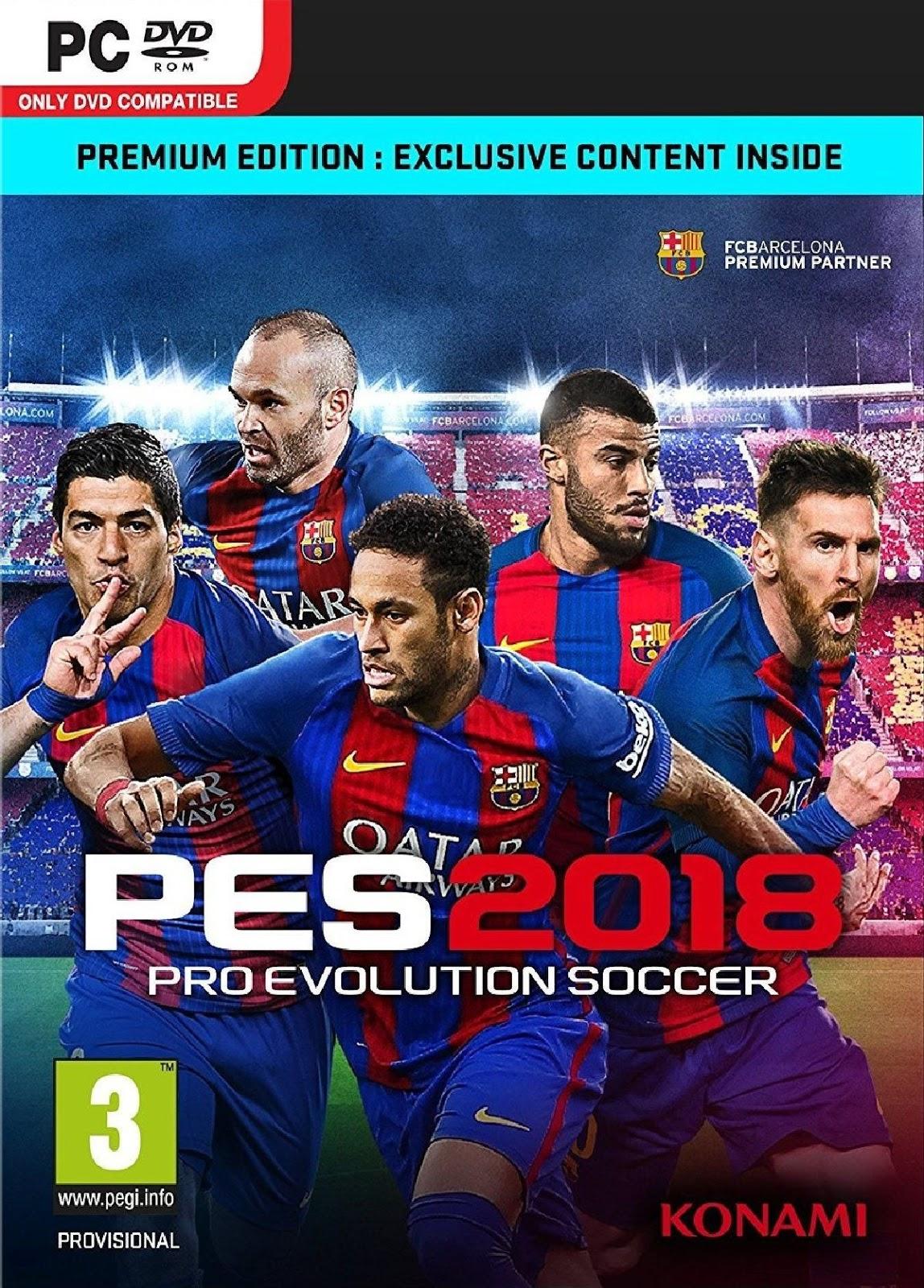 Pro Evolution Soccer 2018 PC ESPAÑOL