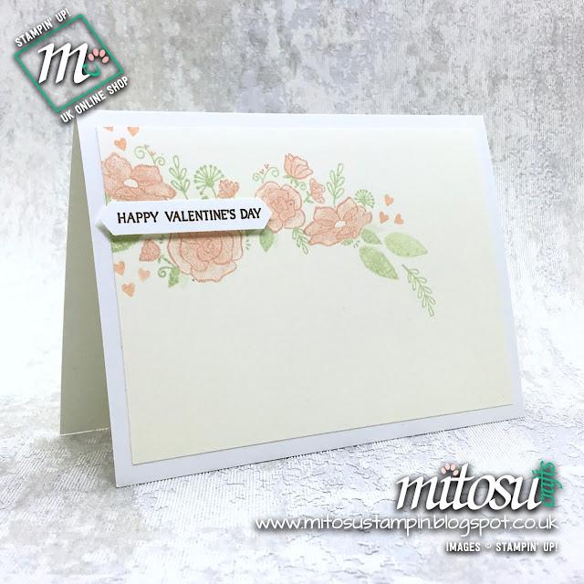Stampin' Up! Forever Lovely Flowers Bundle Card Idea. Order from Mitosu Crafts UK Online Shop