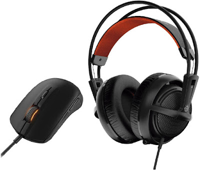 Steelseries Siberia 200 + Rival 100