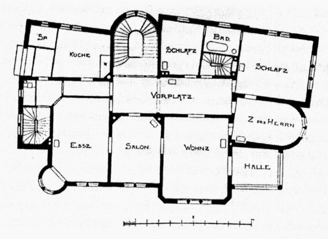 Einfacher Grundriss Grundriss Zeichnen