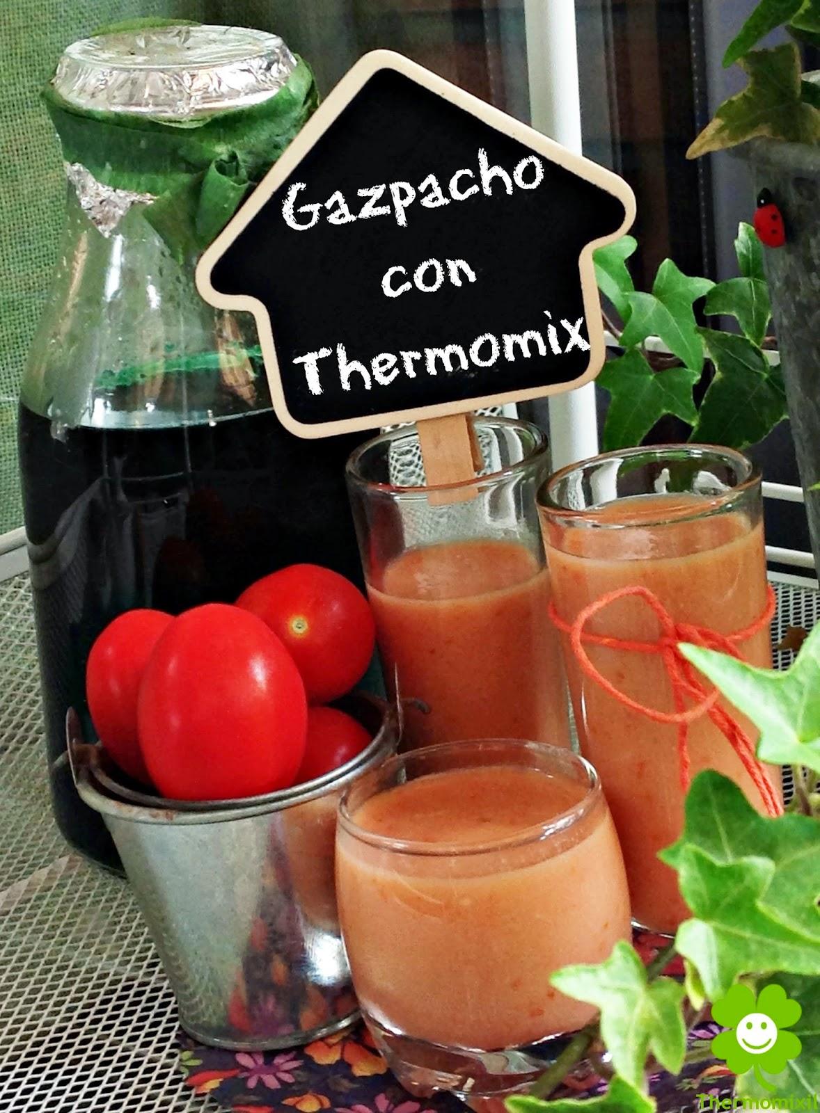 CHUPITO DE GAZPACHO CON THERMOMIX