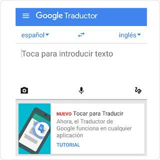 google translate estara disponible en aplicaciones como whatsapp con la funcion tapp to translate