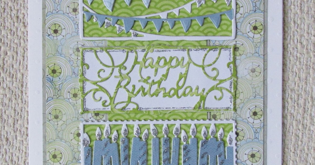 Blanchardstown Inspiring Ideas: A Passion For Cards: Happy Birthday
