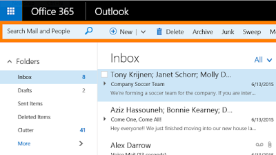 New Outlook 365