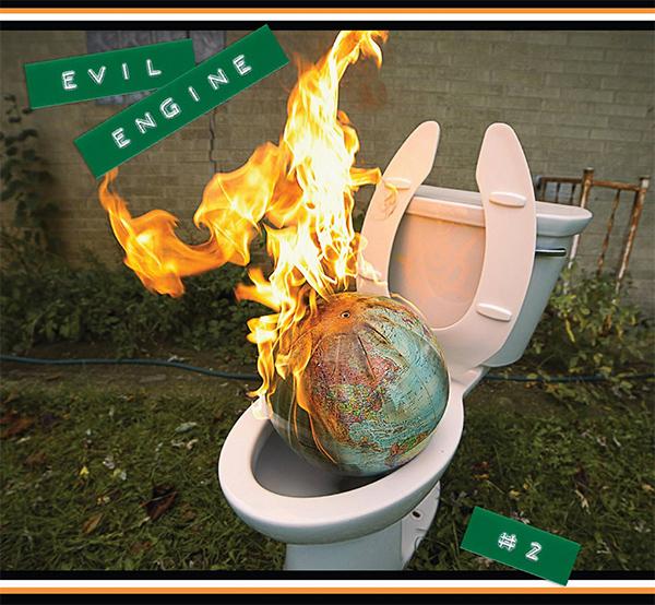 "Evil Engine stream new EP ""#2"""
