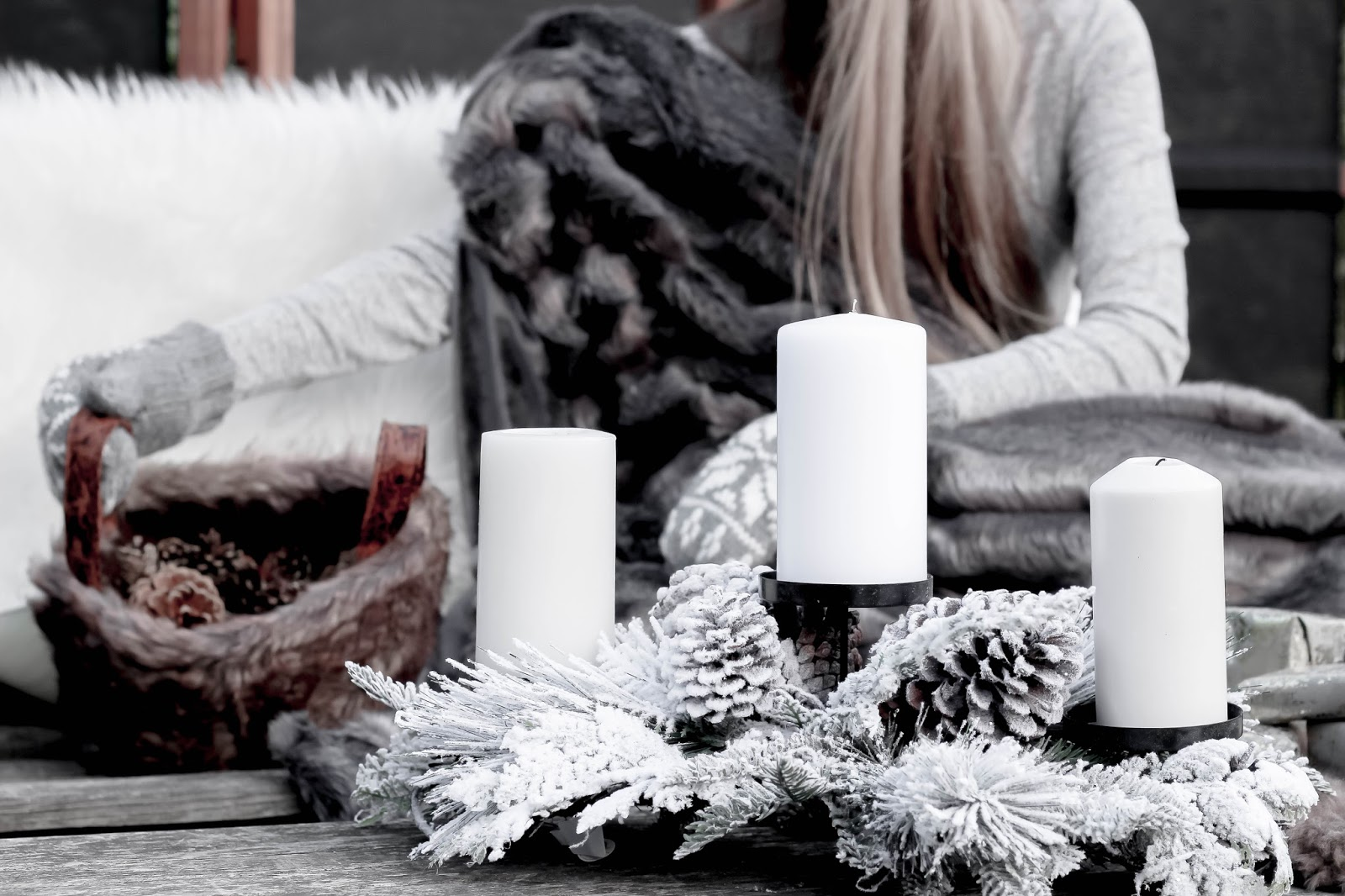 Amara Snow Pine Votive Holder Lifestyle Blogger