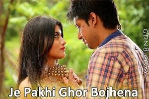 Je Pakhi Ghor Bojhena - Dhruba