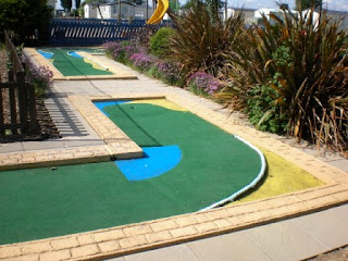 Miniature Golf at North Shore Holiday Centre and Caravan Park in Skegnes