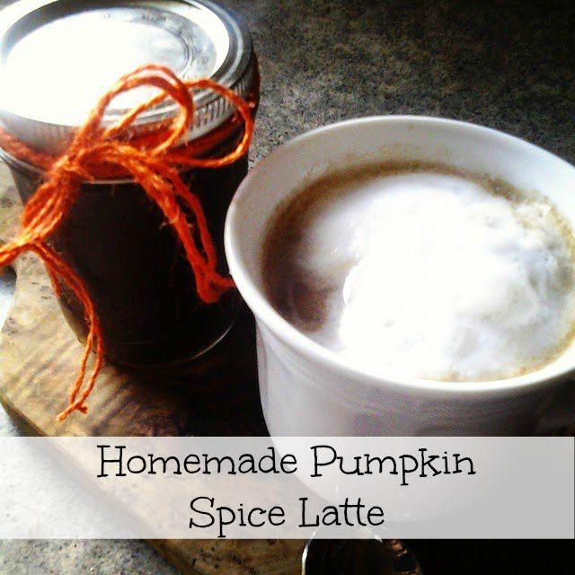 The Happy Little Hive: Homemade Pumpkin Latte