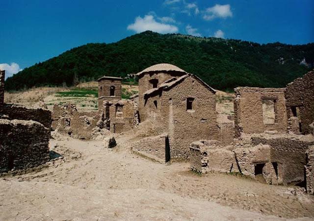 Fabricche di Careggine – Egy falu,ami csak tíz évenként látszik