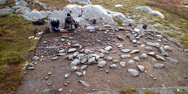 Houses reused for over 1000 years during Stone Age in Norway
