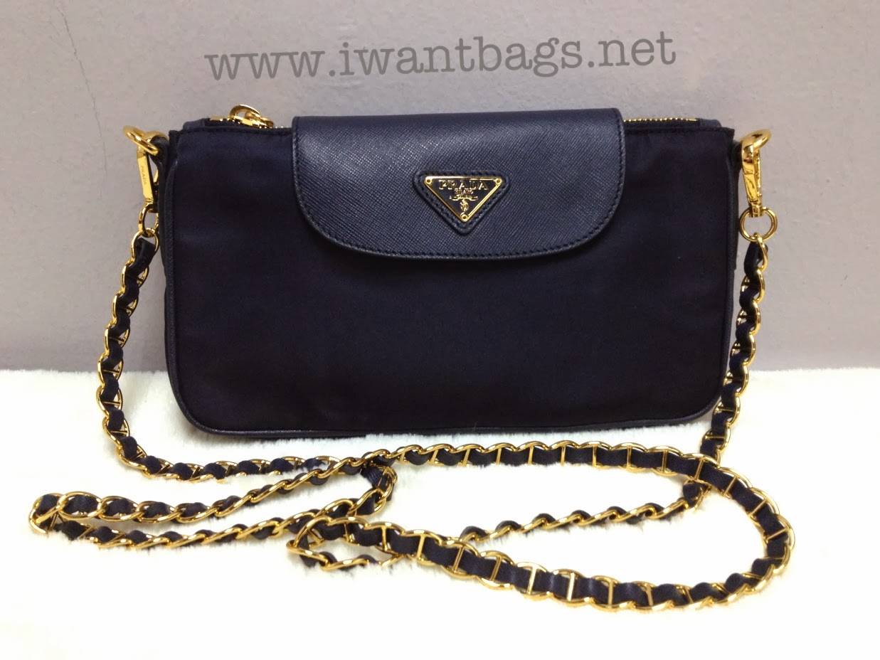 ... authentic prada nylon tessuto saffiano clutch sling bag bt0779 b0ff8  080df aead80611c281