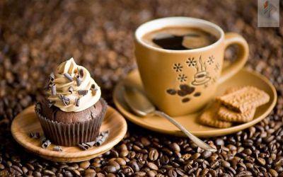 Cafea cu prajitura
