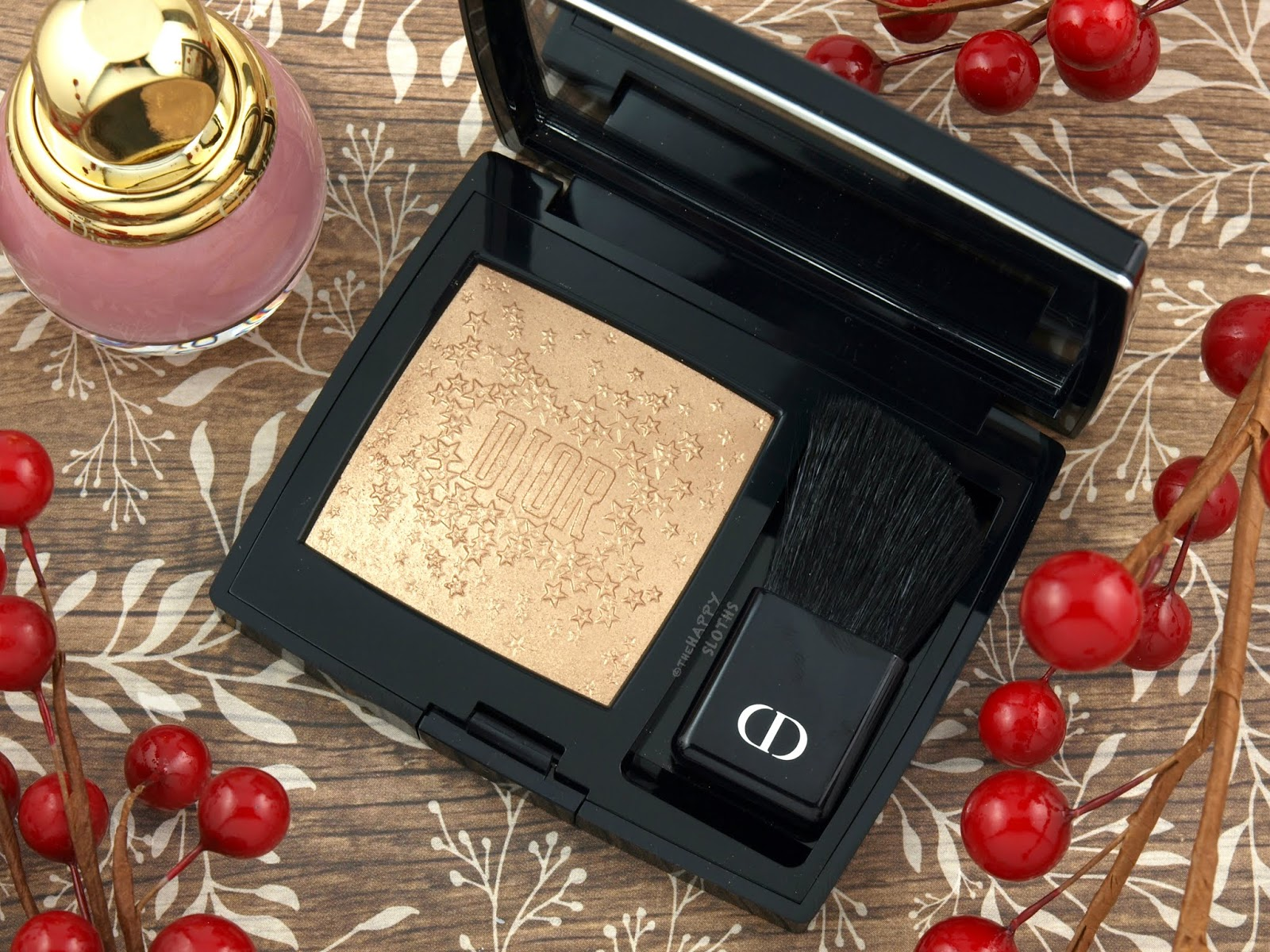 Dior | Holiday 2018 Midnight Wish Rouge Blush: Review and Swatches