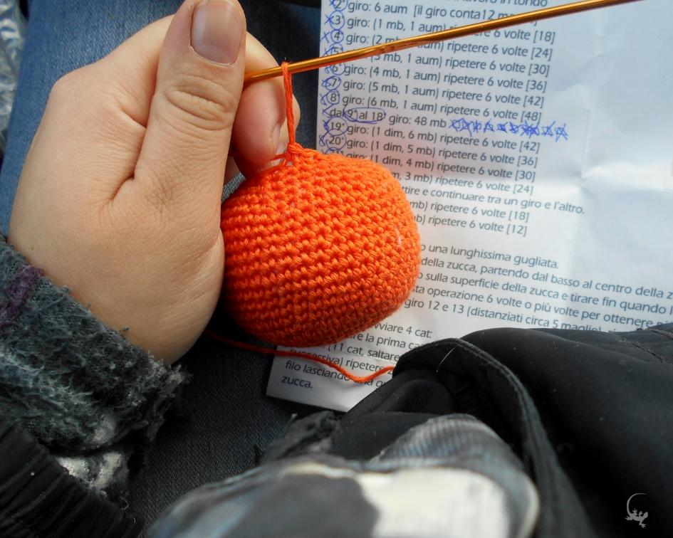 Zucca Halloween Amigurumi Tutorial - Pumpkin Crochet - Calabaza ... | 756x945