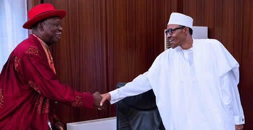 President Buhari And Late Madueke