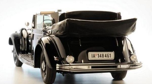 Inilah Mobil Adolf Hitler Yang Akan Masuk Balai Lelang