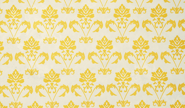 Gold Damask Pattern