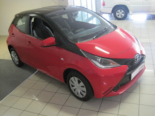 2016 Toyota Aygo 1.0 – 5 speed manual 5 Door