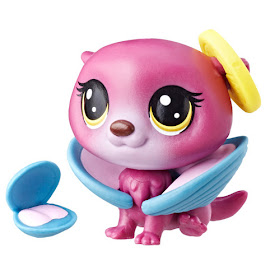 Littlest Pet Shop Series 4 Hungry Pets Otter (#4-142) Pet