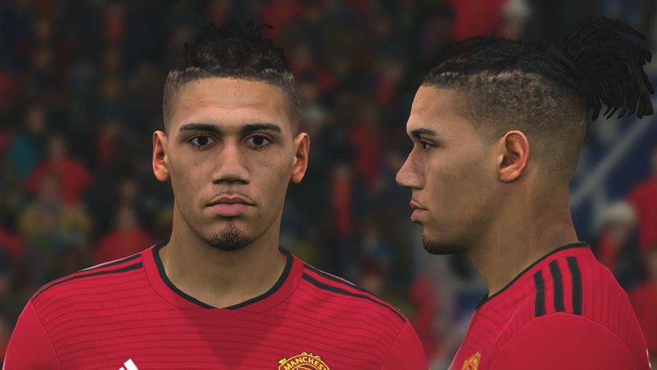 Smalling face PES 2017 by benHUSSAM-Facemaker