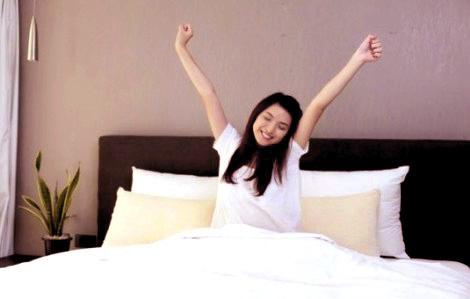 kebiasaan setelah bangun tidur