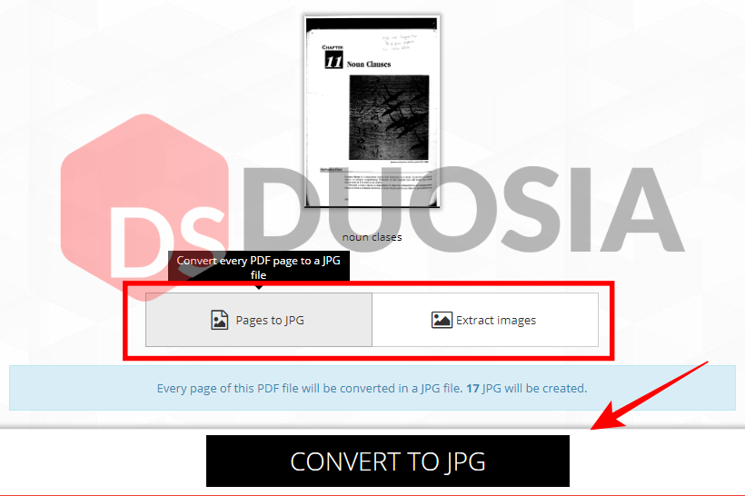batch convert jpg to pdf