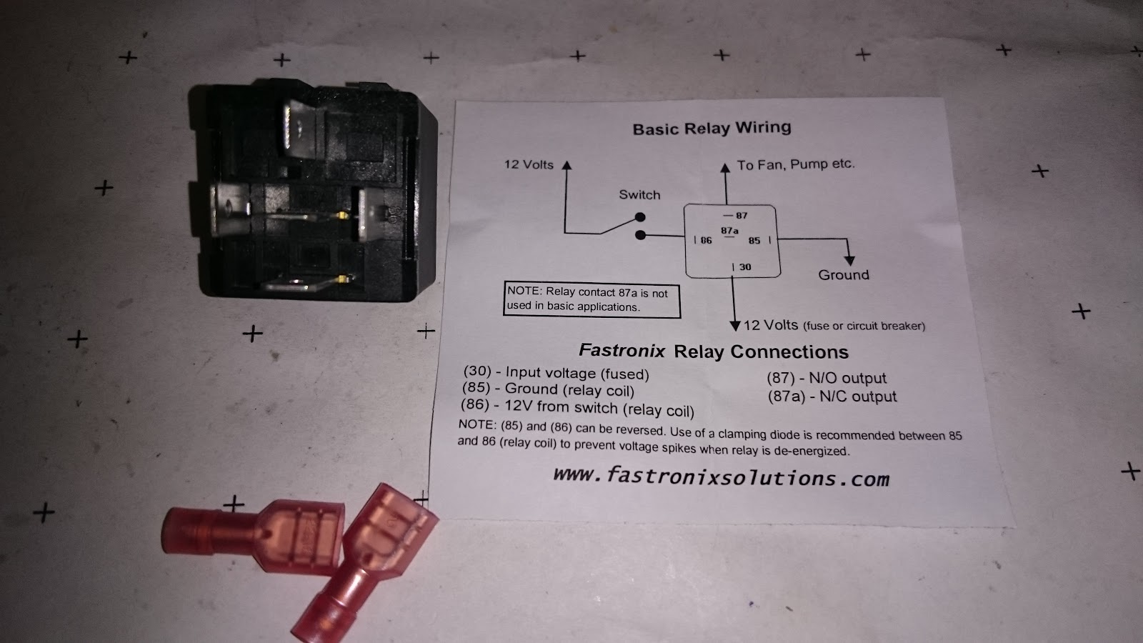 medium resolution of relay with wiring diagram
