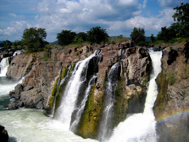 Hognekkal waterfalls