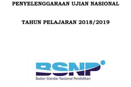 Download POS UN Jenjang SMA-SMK Tahun Pelajaran 2018/2019