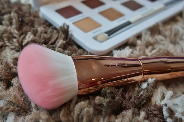 Models Own engraved rose gold contour brush