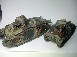 [Escuadra de la semana] Somua S35. Impresión 3D