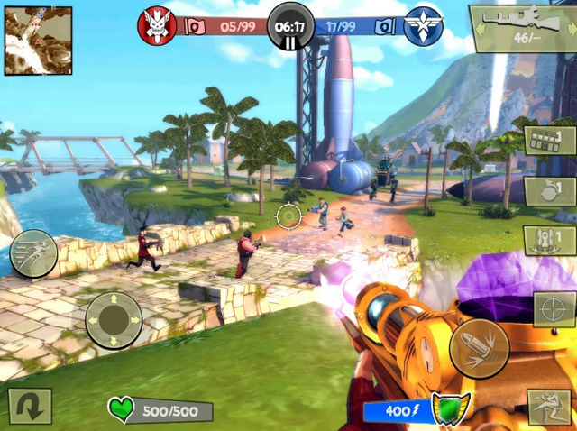 Best FPS Shooting Games for Android apk Free Download Blitz Brigade