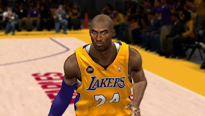 NBA 2K13 Kobe Bryant Cyberface Patch