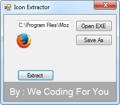 Icon Extractor Source Code