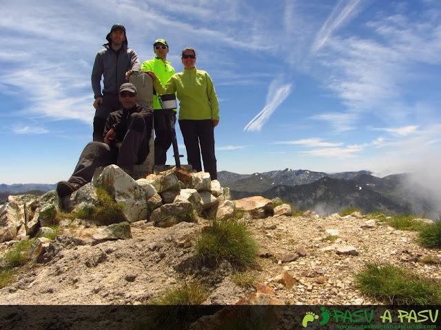 Ruta al Pico Torres y Valverde: Cima del Pico Torres