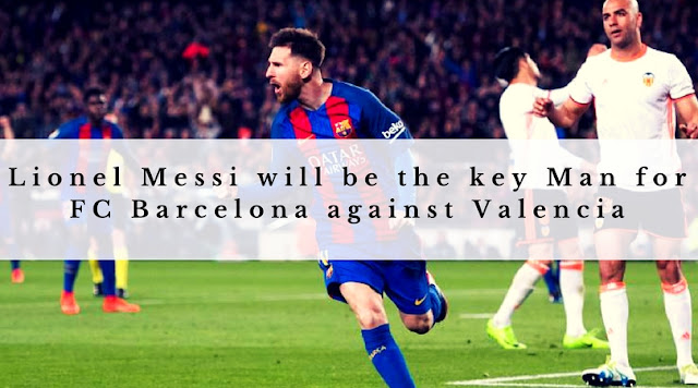 FC Barcelona will be looking to secure a fifth consecutive Copa Del rey final when they take on Valencia tonight